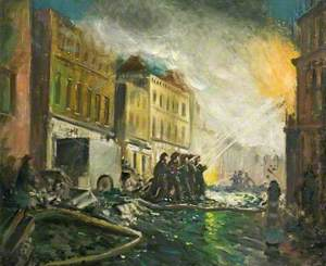 An Incident in the London Docks