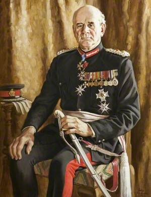 Colonel Sir Martyn Gibbs, KCVO, CB, DSO, TD, Lord Lieutenant of Gloucestershire (1977–1992)