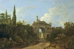 Kew Gardens, Surrey, Ruined Arch