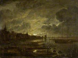 A Village on a River, Moonlight