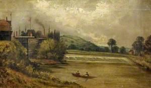 Llanthony Weir, Gloucestershire