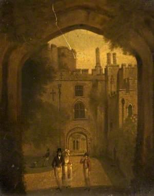 Entrance to Berkeley Castle, Gloucestershire