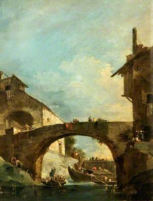 High Bridge over a Canal