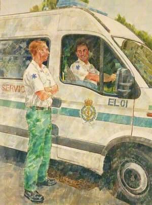 Ambulance Men and Ambulance