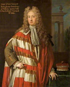 Henry St John (1678–1751), 1st Viscount Bolingbroke, Secretary of State to Queen Anne, Son to Henry St John, 1st Viscount St John (1652–1742)