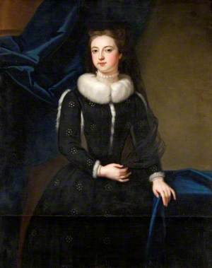 Portrait of a Female Member of the St John Family