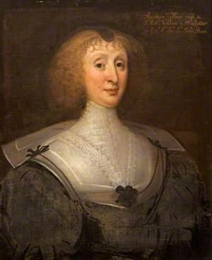 Barbara St John (d.1672), Sister to Sir John St John, 1st Bt and Wife of Sir Edward Villiers