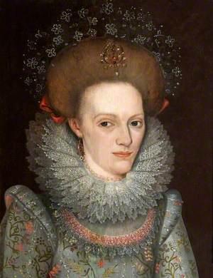 Anne Leighton (c.1591–1628), First Wife of Sir John St John, 1st Bt