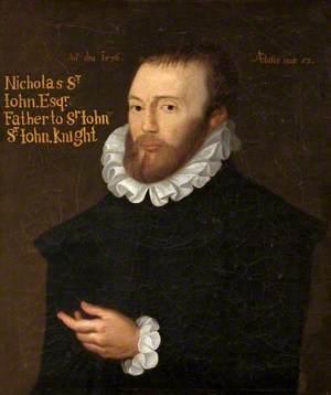 Nicholas St John (1523–1589)