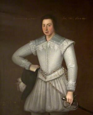 Sir John St John (c.1585–1648), Aged 17