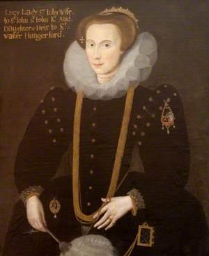 Lucy Hungerford (1560–1598), Wife of Sir John St John, Kt