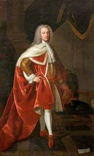 John St John (1702–1748), 2nd Viscount St John, in Coronation Robes