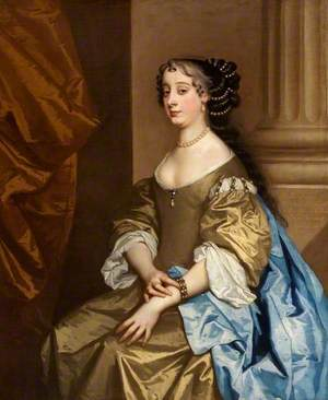 Barbara Villiers (1641–1709), Countess of Castlemaine and Duchess of Cleveland, Granddaughter of Barbara St John