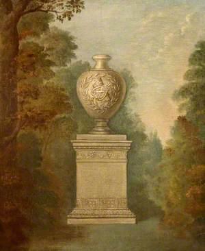 Urn in a Landscape Setting