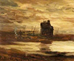 Sunset, Lochranza Castle, Isle of Arran