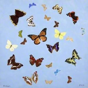 April, Butterflies