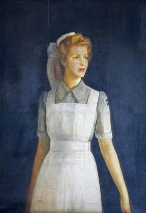Joan Saxton, a Student Nurse Who Trained at Cirencester Memorial Hospital