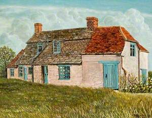 Miss Smith's Cottage at Widham, Wiltshire