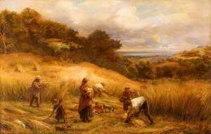 Landscape with Harvesters