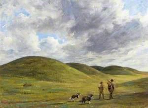 Barrows on Beacon Hill, Wiltshire
