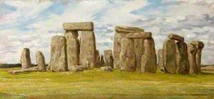 Stonehenge from the East, Wiltshire