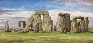 Stonehenge from the South, Wiltshire