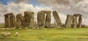 Stonehenge from the West, Wiltshire