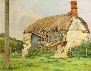 Ruined Cottage, Stratford-sub-Castle, Wiltshire