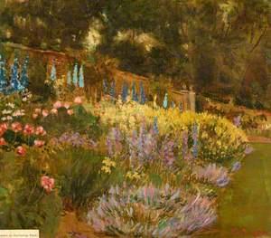 Garden at Burderop Park, Swindon, Wiltshire