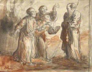 Four Figures in Classical Dress