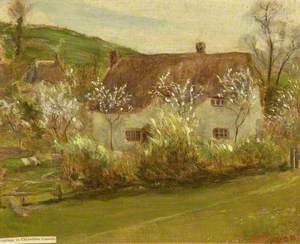 A Cottage in Chiseldon Coomb, Wiltshire