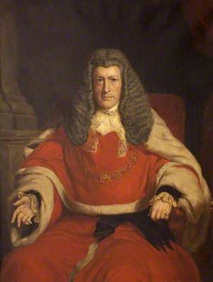 Portrait of a Gentleman in Judge's Robes
