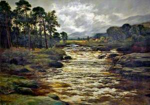 The River Dochert, at Killin, Perthshire