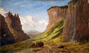 Valley of the Lauterbrunnen, Switzerland