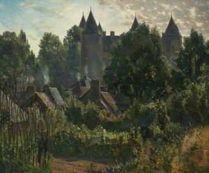 Early Morning, Josselin, France