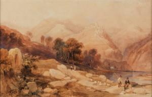 The Drachenfels on the Rhine