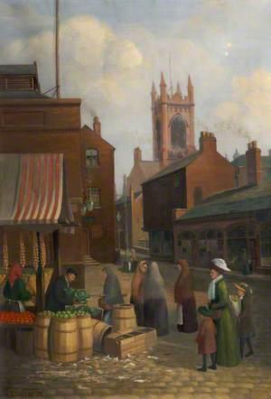 Albion Street, Oldham, Lancashire, 1910