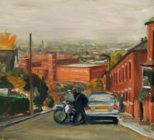 Street in Oldham, Lancashire