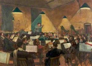 Sir John Barbirolli Conducting the Hallé Orchestra