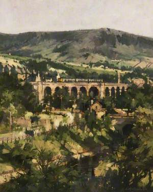 Saddleworth Viaduct, Uppermill, Greater Manchester