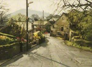 Morning Sunlight, Clough Lane, Grasscroft, Saddleworth, Greater Manchester