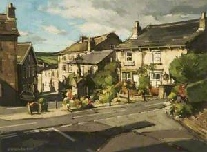The Square, Dobcross, Saddleworth, Greater Manchester