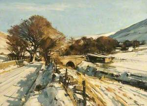 Winter Sunlight, Diggle, Saddleworth, Greater Manchester