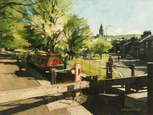 Wade Lock, Uppermill, Saddleworth, Greater Manchester