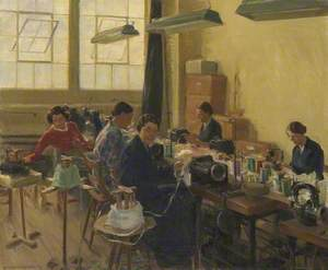 At the Sewing Machines