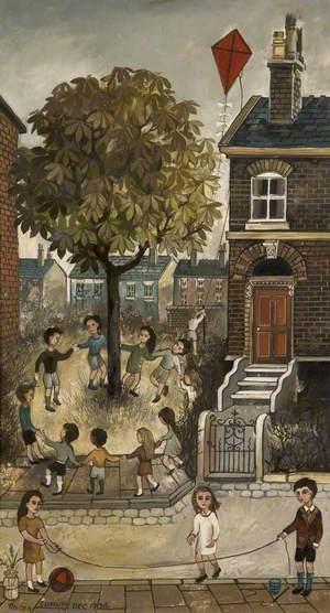 Skipping in Bourne Street