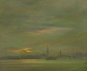 The Thames, Evening