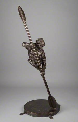 Maquette for 'The Cockleshell Hero'
