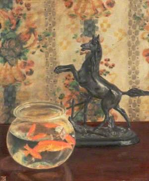 Goldfish and Horse