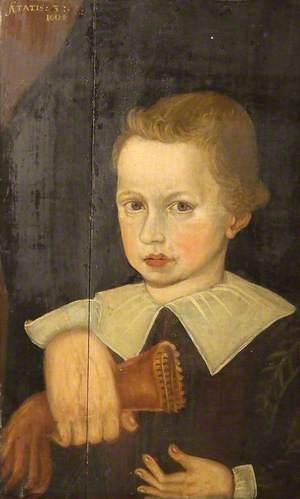 Richard Assheton of Middleton's Son whilst a Child